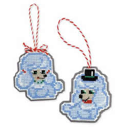 Borduurpakket Christmas Tree Decoration Dogs - RIOLIS