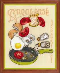 Borduurpakket Breakfast - RIOLIS