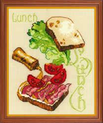 Borduurpakket Lunch - RIOLIS