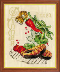 Borduurpakket Dinner - RIOLIS