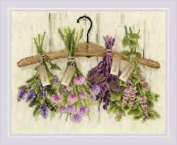 Borduurpakket Herbs - RIOLIS