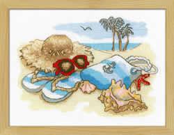 Borduurpakket Holiday by the Sea - RIOLIS