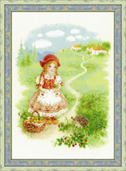 Borduurpakket Little Red Riding Hood - RIOLIS