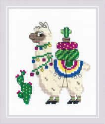 Borduurpakket Llama - RIOLIS