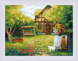 Borduurpakket Country House - RIOLIS