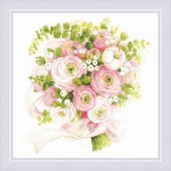 Borduurpakket Wedding Bouquet - RIOLIS