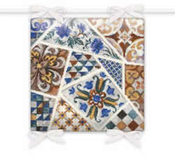 Borduurpakket Cushion Mosaic - RIOLIS