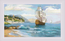 Borduurpakket Distant Shores - RIOLIS