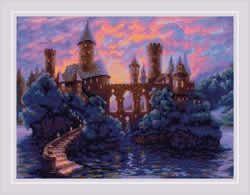 Borduurpakket Mysterious Castle - RIOLIS