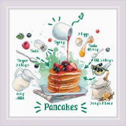 Borduurpakket Recipe - Pancakes - RIOLIS