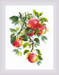 Borduurpakket Juicy Apples - RIOLIS