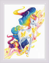 Borduurpakket Fairy Unicorn - RIOLIS
