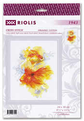 Borduurpakket Goldfishes - RIOLIS