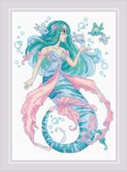Borduurpakket Little Mermaid Rosalina - RIOLIS