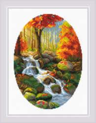 Borduurpakket Autumn Foliage - RIOLIS