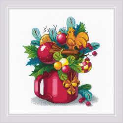 Borduurpakket New Year's Aroma - RIOLIS