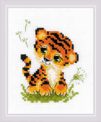 Borduurpakket Baby Tiger - RIOLIS