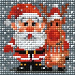 Diamond Mosaic Santa Claus - RIOLIS