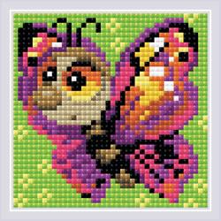 Diamond Mosaic Butterfly - RIOLIS