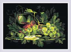 Diamond Mosaic Still Life with Lemon - RIOLIS