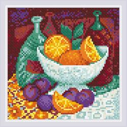 Diamond Mosaic Oranges - RIOLIS