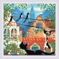 Diamond Mosaic City & Cats Summer - RIOLIS