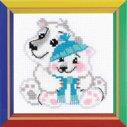 Cross Stitch Kit Younger Brother - RIOLIS