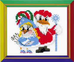 Cross stitch kit New Year's Masquerade - RIOLIS