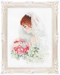 Borduurpakket Bride - RIOLIS