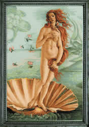 Borduurpakket The Birth of Venus after S.Bottichelli's Painting - RIOLIS