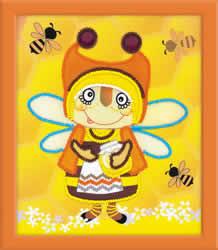 Borduurpakket Granny Bee - RIOLIS