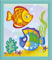Borduurpakket Sea Fish - RIOLIS