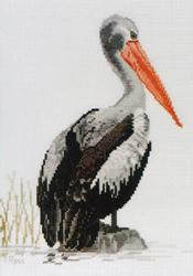 Borduurpatroon Pelican - Ross Originals