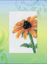 Borduurpakket Postcard Coneflower - RTO
