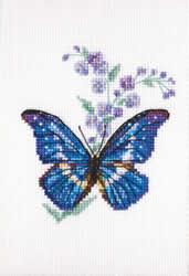 Borduurpakket Polemonium and Butterfly - RTO
