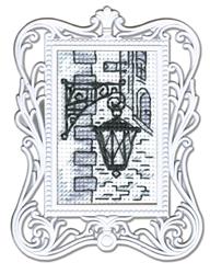 Borduurpakket Framed Art Lamp - RTO