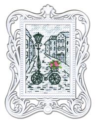 Borduurpakket Framed Art Bycicle - RTO