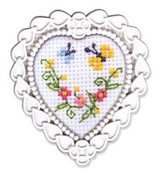 Borduurpakket Framed Art Butterflies - RTO