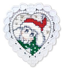 Borduurpakket Framed Art Christmas Sheep - RTO