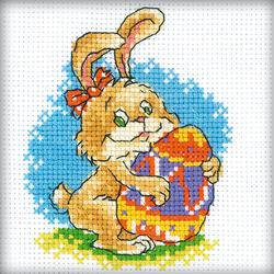 Borduurpakket Easter Rabbit - RTO
