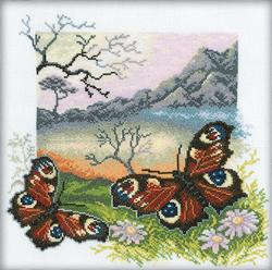 Borduurpakket Butterflies Collection - RTO