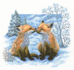 Borduurpakket Fox Cubs - RTO