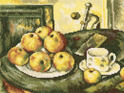 Borduurpakket Still Life With Apples - RTO