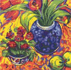Borduurpakket Flowers and Fruit - RTO