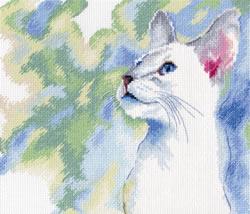 Borduurpakket Feline Grace - RTO