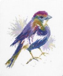 Borduurpakket Blue Feather - RTO
