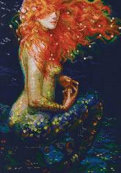 Borduurpakket Red Mermaid - RTO