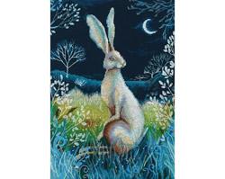 Borduurpakket Hare by Night - RTO