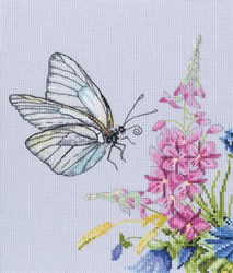 Borduurpakket Cabbage Butterfly - RTO