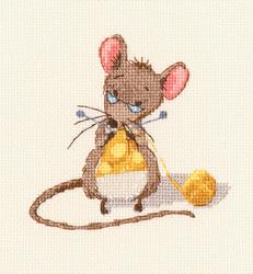 Borduurpakket Cheese Knitting - RTO